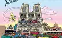 8 janvier 2012 : 12e traversée de Paris avec la parade des anciennes