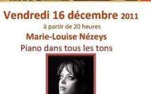16 décembre 2011 : Marie-Louise Nézeys au Petit Olivier