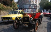 Traversée de voitures anciennes d'Antony à Meudon en passant par Paris