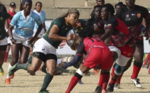 Women's Rugby World Cup : in a one-sided game, South Africa beats Uganda during the Rugby Africa Women's Cup