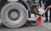 Accident : camion bétonnière contre poussette