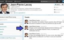 """Jean-Pierre Lecoq n'est plus le """"représentant départemental de N Sarkozy pour superviser sa campagne officielle à Paris"""""""