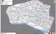 Projection des résultats du 2e tour dans la 1ere circonscription de Paris