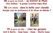 21 juin 2012 : Fête de la musique rue du Cherche-Midi, de la rue du Regard à la rue Saint Romain