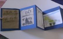 """Parcours-atelier de dessin pour les enfants : """"Carnets de voyage"""""""