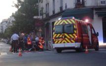 Accident de la circulation peu banal à Montrouge