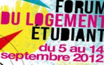 Jusqu'au 14 septembre 2012 : Forum du logement étudiant