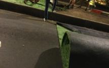 Gazon en plastique et cumul en pleine campagne des municipales à Papeete