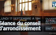 17 septembre 2012 : conseil du 15e arrondissement