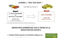 19 - 22 novembre 2012 : Bourse d'échange de jouets à la mairie du 15e arrondissement