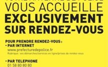 Passeports et cartes nationales d'identité à Paris : uniquement sur rendez-vous
