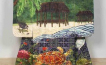 Yuki Kihara : Installation of A Song about Samoa-Fanua showing in Dunedin, New Zealand