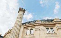 Bourse de Commerce - Pinault's Parisian Museum for Contemporary Art with the main entrance on Rue du Louvre