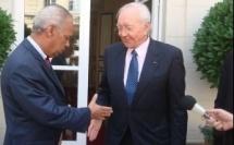 Le gouvernement Ayrault et la Polynésie française avec Gaston Flosse