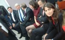 Nathalie Kosciusko-Morizet présente ses chefs de file à Paris
