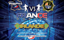 Match international Police contre Police au rugby
