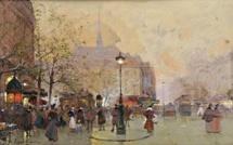 La Place Saint-Michel à la « Belle Epoque » pour 9 666 euros