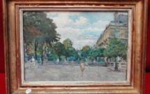 Le jardin du Luxembourg, l'éducation par un bon Père et Alexandre Falguière et Léda