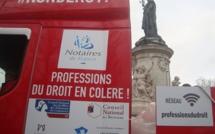 Le projet de loi Macron met dans la rue les professions réglementées