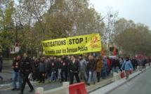 Service public : gaziers et électriciens fortement mobilisés à Paris