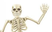 Cave déblayée : un crâne d'enfant