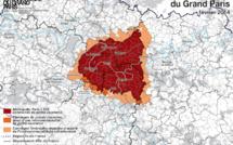 Les limites de la Métropole du Grand Paris