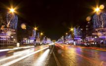 Retard à l'allumage sur les Champs Elysées