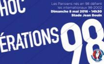 Un avant-goût de l'UEFA Euro 2016 : la ville de Paris offre des places gratuites pour le match de gala « Génération 98 »