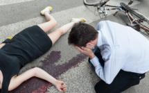 Un véhicule poids lourd contre un cycliste : 1 mort