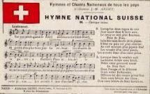 Querelle autour de l'hymne Suisse