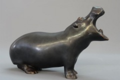 Lot 81 Hippopotame par François Pompon Etude E. Aubert