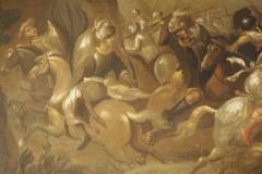 Lot 18 - Ecole flamande du XVIIe siècle - Bataille de cavalerie - détail 2 © Etude SADDE Commissaires Priseurs à Dijon