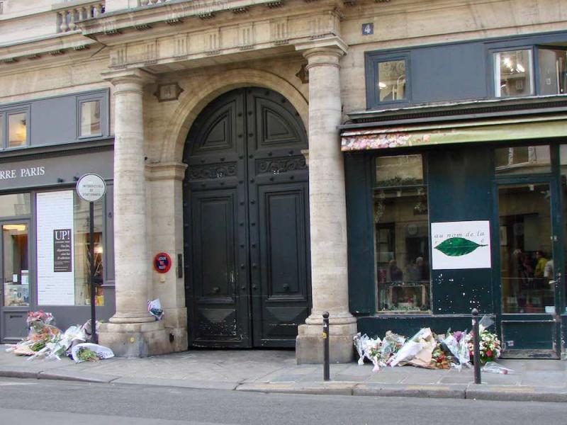 Dernière demeure de Jacques Chirac rue de Tournon dans le 6e arrondissement de Paris