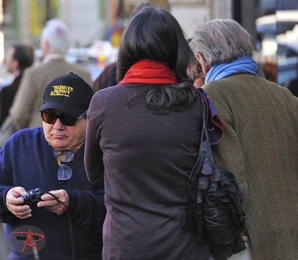 Danny de Vito à Saint-Germain-des Prés - Crédit photo tous droits réservés Pascal Cotelle.