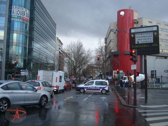 Fusillade à Montrouge © VD