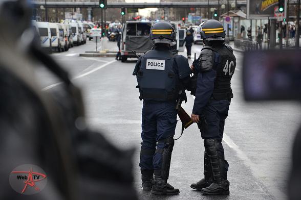 Prise d'otages à la porte de Vincennes © VD