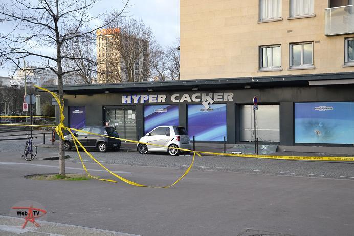 Hyper Cacher dans le 20e arrondissement de Paris © VD